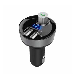 Bluetooth FM Transmitter Car Charger With MP3 Player