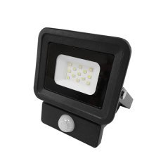 LED SMD Floodlight Black Classic Line2 With PIR Sensor