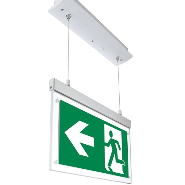 Led Hanging Emergency Exit Light 3 Hours Duration With Pvc