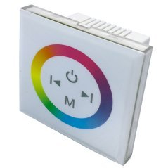 LED RGB Sensor Dimmer Wall Mountable White