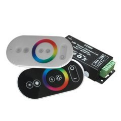 LED Strip Remote Control GRB Mini Touch Controller Black