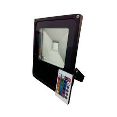 LED RGB Floodlight With Remote Control