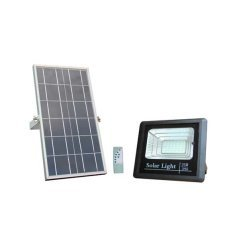 LED Solar Powered Floodlight + Solar Panel