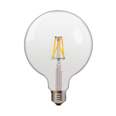 LED Filament Bulb G125 E27
