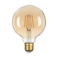 LED Bulb E27 G95 Golden Glass