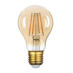LED Bulb E27 A60 Golden Glass