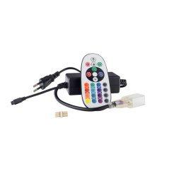 LED Flex Neon 0.5M Power Cable + RGB Controller