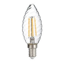 LED Филамент Крушка C35 E14 Twist Candle 4W