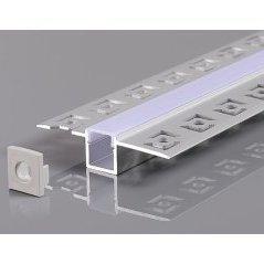 Aluminium Profile For LED Strip Gray Built In L=2m