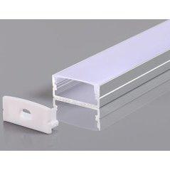 Aluminium Profile For LED Strip Ggray 10mm L=2m