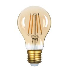 LED Bulb A60 8W Filament Golden Glass Dimmable
