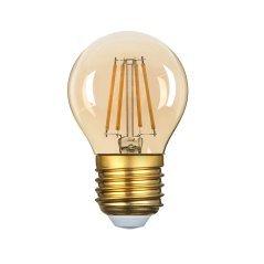 LED Plastic Bulb G45 E27 4W Golden Glass Dimmable