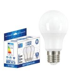 LED Plastic Bulb A60 E27 9W And 11W 3PCS/PACK