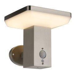 LED Wall Light UP SS-Brushed Aluminium 4.4W Sensor