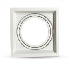 Rectangular 1*Ring Adjustable For AR111 2Pcs/Box